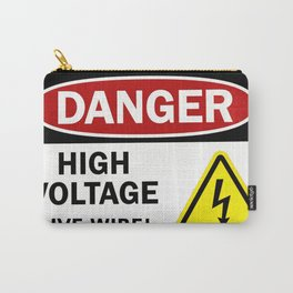 Danger, high voltage! Carry-All Pouch