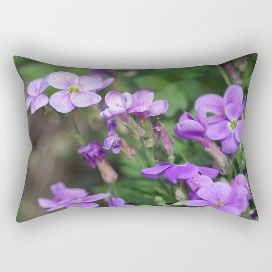 Blue to blue Rectangular Pillow