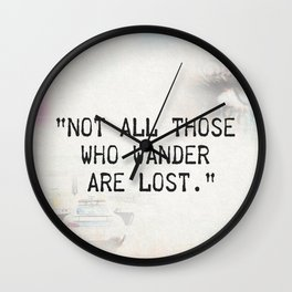 Not all are lost Wall Clock
