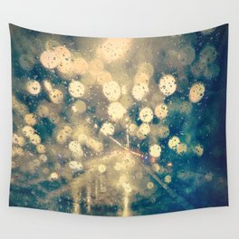 Under the rain Wall Tapestry