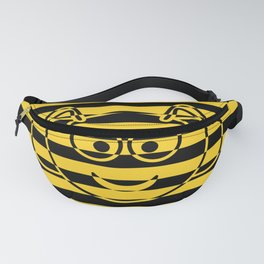 Cute Little Honey Bee yellow and black Fanny Pack