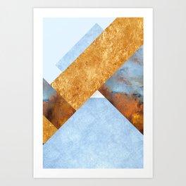 Modern Mountain No5-P3 Art Print