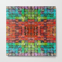 187 - colour abstract design Metal Print