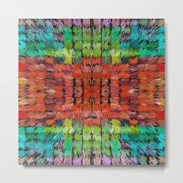 187 - colour abstract design Metal Print