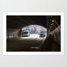 Stockton Tunnel Art Print