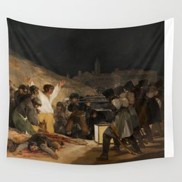 The Third of May by Francisco Goya Wall Tapestry