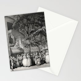 Vauxhall Gardens 1785 Stationery Cards
