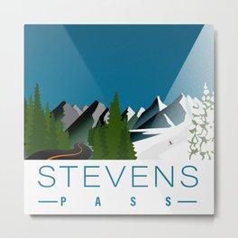 Stevens Pass Metal Print
