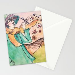 Snuffkin melody Stationery Cards