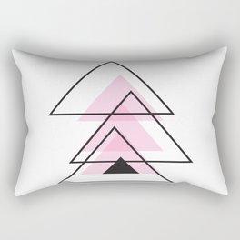 Minimalist Triangle Series 003 Rectangular Pillow