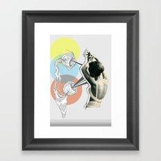 fish eye Framed Art Print