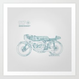 SKETCH Nº007 Art Print