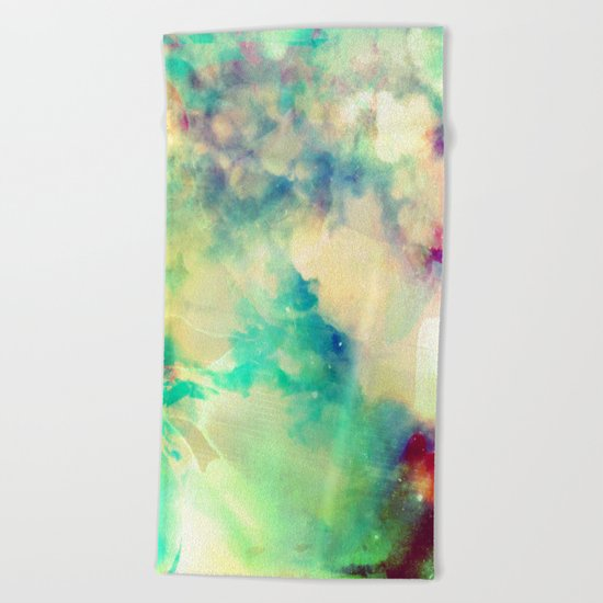 Fume Color Splash 02 Beach Towel