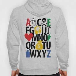 alphabet collection Hoody