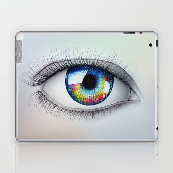 """Universe in your Eyes"" Laptop & iPad Skin"