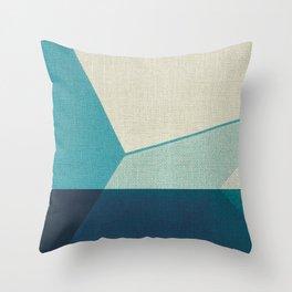 Water Splitter 2 Throw Pillow