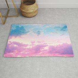 Unicorn Pastel Clouds #3 #decor #art #society6 Rug