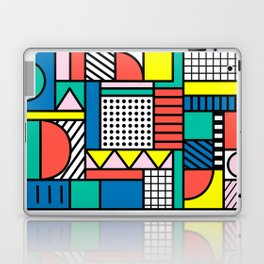 Memphis Color Block Laptop & iPad Skin