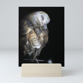 Pulling Feathers Mini Art Print