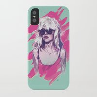 blondie iPhone & iPod Cases featuring Blondie by Dave Merrell
