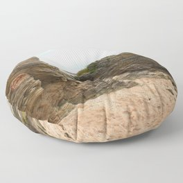 Shaped By The Sea Floor Pillow