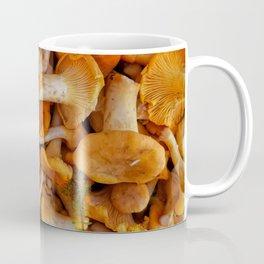 Edible Chanterelle Mushrooms - Mushroom Hunter Coffee Mug