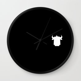 Apple's Cow Wall Clock
