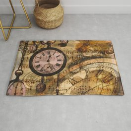 Candy's Steampunk-Music Time Rug