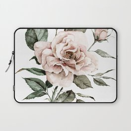 Faded Pink Rose Laptop Sleeve