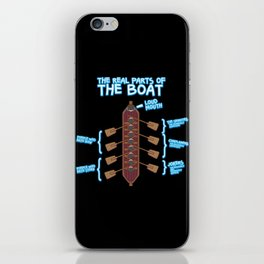 The real parts of the boat iPhone Skin