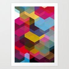 Cuben 15 Art Print