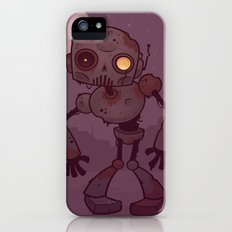 Rusty Zombie Robot iPhone (5, 5s) Slim Case