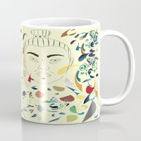 japan Mugs featuring Japan by March Hunger