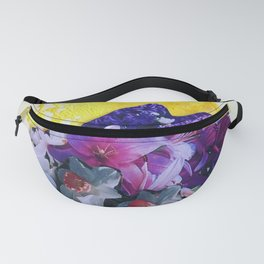 Garden Circle - Bright Yellow Fanny Pack