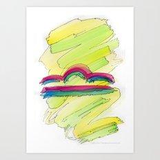 Libra Flow Art Print