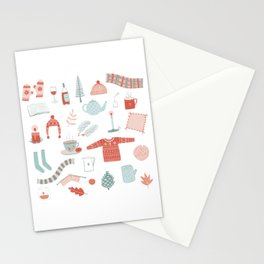 Hygge Cosy Things Stationery Cards