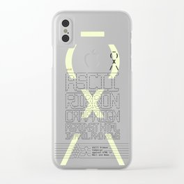 ASCII Ribbon Campaign against HTML in Mail and News – White Clear iPhone Case