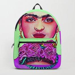 Frida Kahlo Upfront and Personal Backpack
