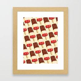 Ice Lolly Pattern - Fab Framed Art Print