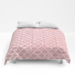 Blush Mermaid Glitter Comforters