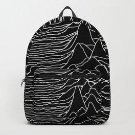 Unknown Pleasures Original Deep Space Black  Backpack