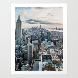 New York City 02 Art Print
