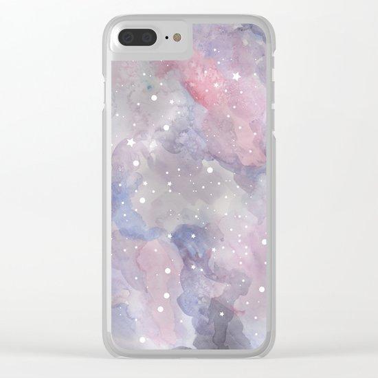 Star sky Clear iPhone Case
