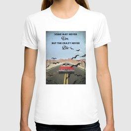 Fear and loathing las Vegas travel movie art T-shirt