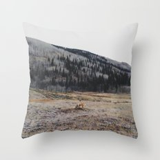 Silverton Fox Throw Pillow
