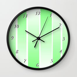 Spring Color Wall Clock