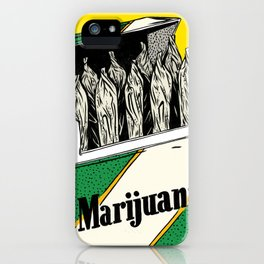Mainstream Marijuana iPhone Case