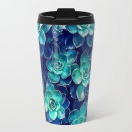 Plants of Blue And Green Travel Mug