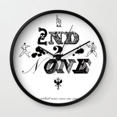 2nd 2 None : black Wall Clock