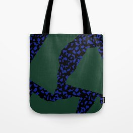 Memphis Patchwork 80s Pattern Tote Bag